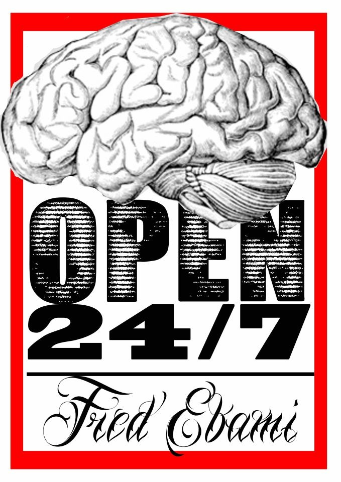 OPEN 24/7 by Fred Ebami