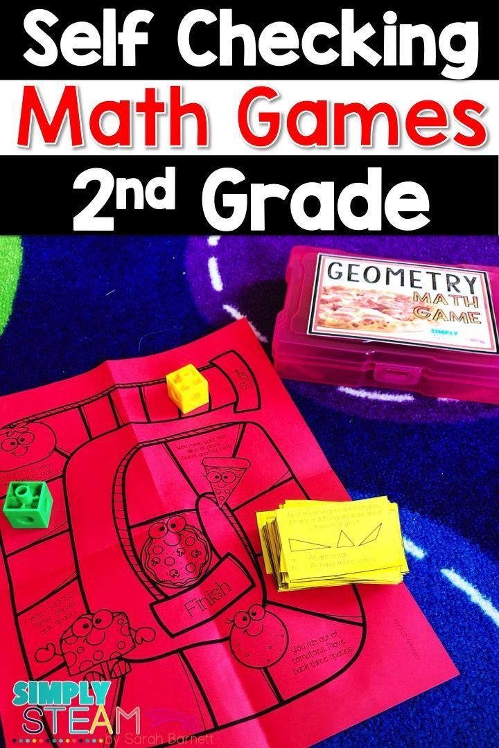 2nd Grade Math Centers 2nd Grade Math Games Bundle Second Grade
