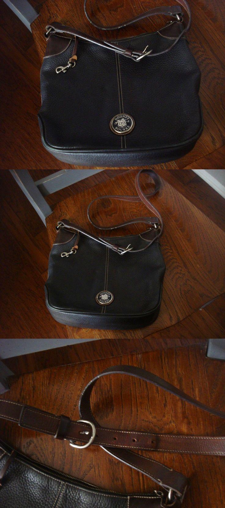 Dooney & Bourke Black Pebble All Weather Leather Bag Purse $24.95
