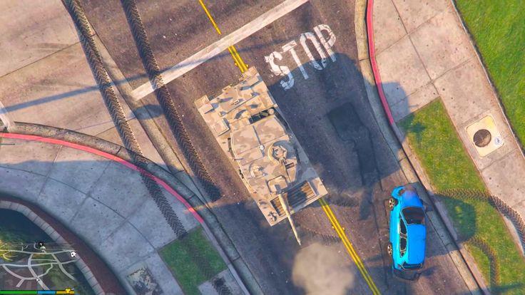 GTA 5 PC Mods - Top Down View -  GTA 5 2D VIEW MOD