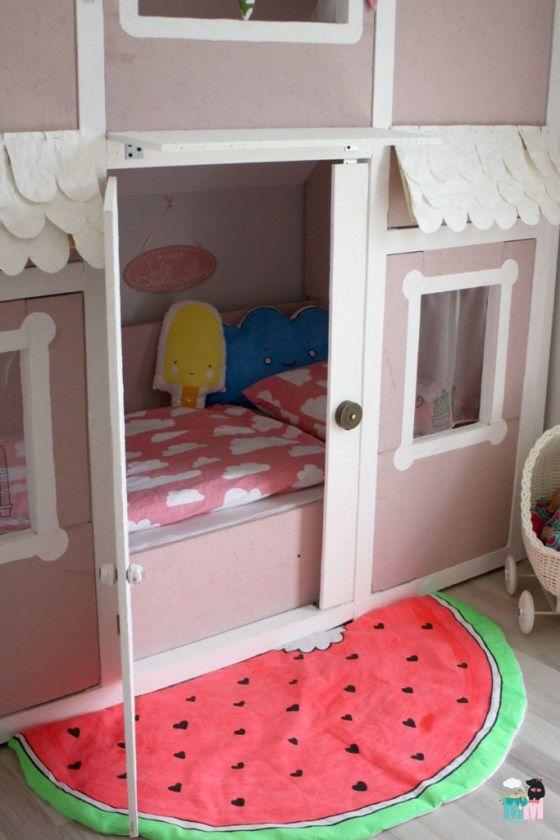 ber ideen zu hausbett auf pinterest kinderbett abenteuerbett und spielbett. Black Bedroom Furniture Sets. Home Design Ideas