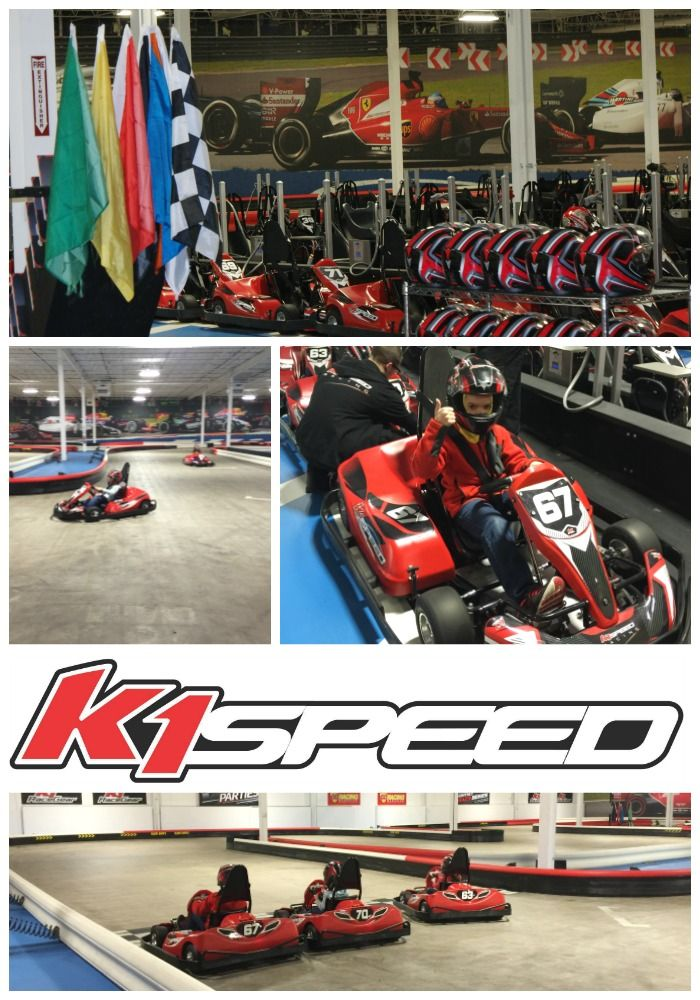 K1 Speed Go-Kart Racing in Wilmington, Ma! An awesome activity packed with family fun!