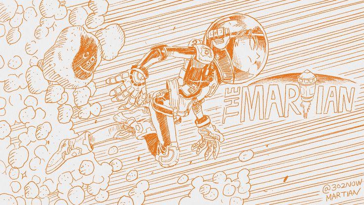 마션 코믹스 버젼 팬아트 #martian #comicsversion #fanart #mars #freshpaint #comics
