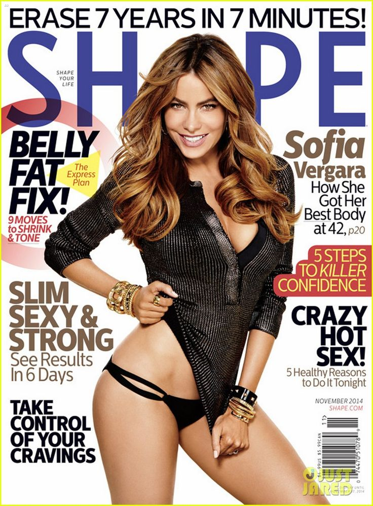 sofia vergara pantless for shape cover 04 Sofia Vergara shows off her amazing fit body on the cover of Shape magazine's November 2014 issue, out on newsstands on Thursday (October 9)!    Here's what the…