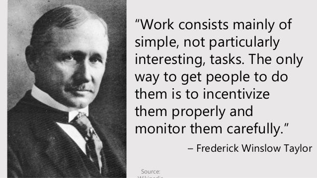 Frederick Winslow Taylor quote
