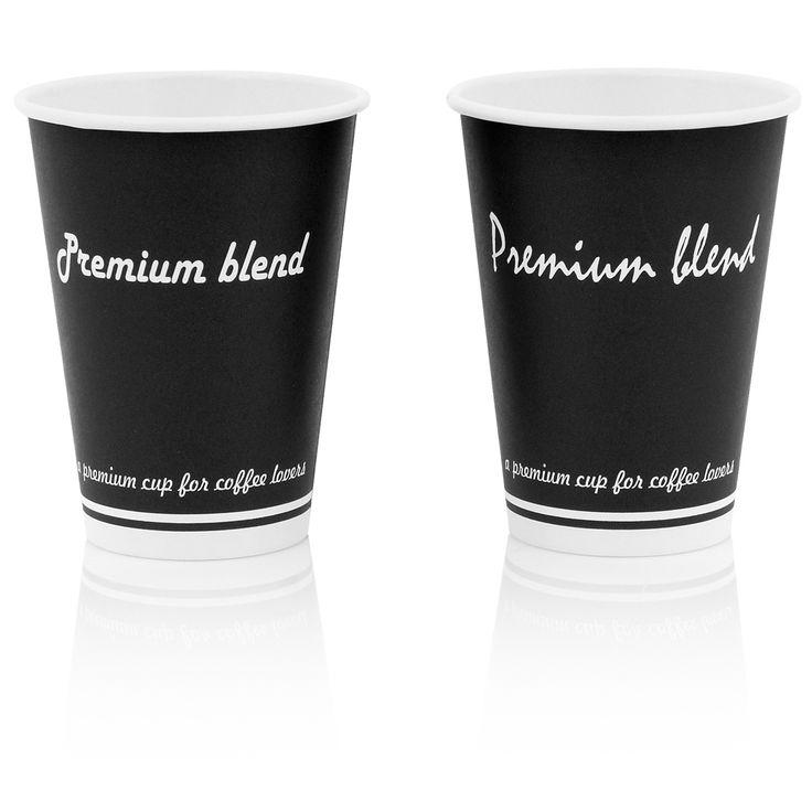 "14oz hot cup ""Premium Blend"""