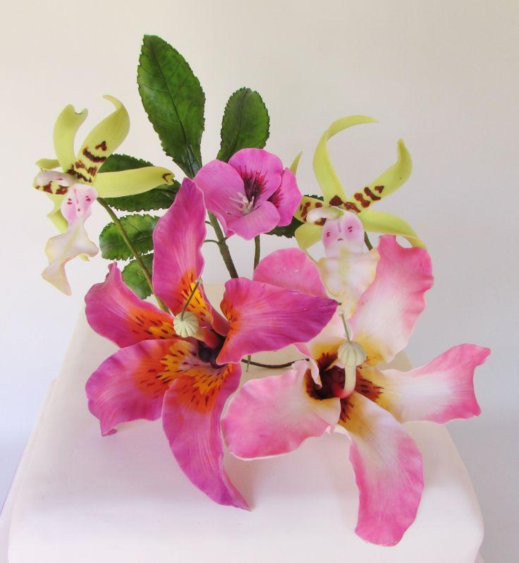 Diseño Floral para tortas.