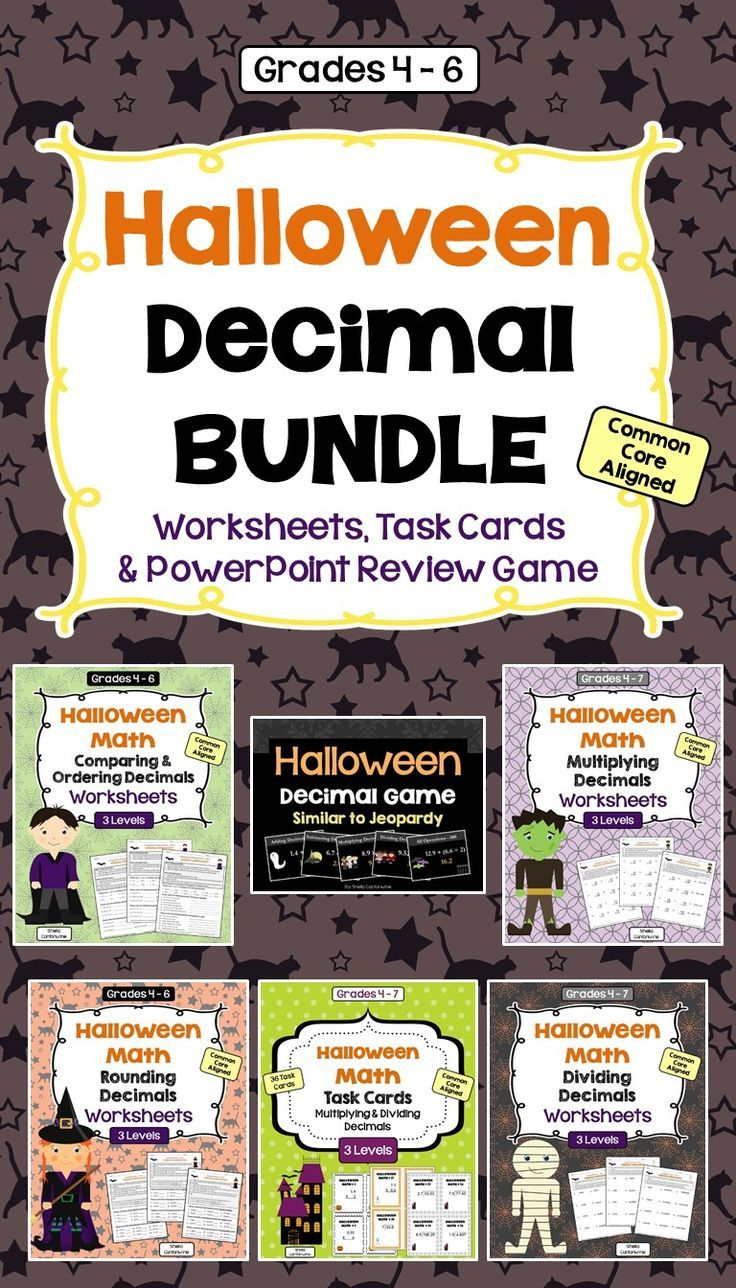 Best 25 rounding decimals worksheet ideas on pinterest rounding this halloween decimal bundle has everything you need to review decimals including worksheets task cards robcynllc Choice Image