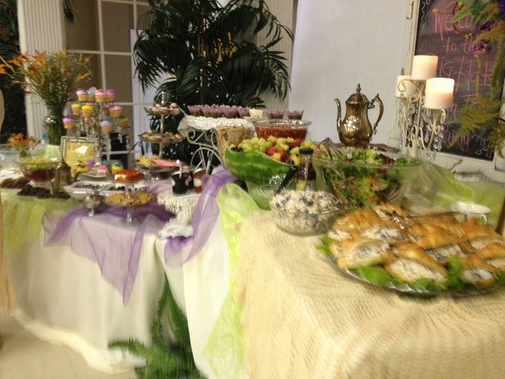 Ladies Tea Party! | Sassy Events! Showers, receptions ...