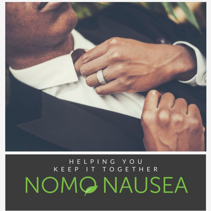 NoMo Nausea bands, helping you look your best and feel your best for the greatest day of your life! #Hangover #cure