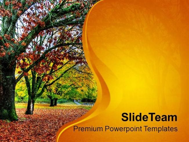 Fall Of Leaves In Autumn PowerPoint Templates PPT Themes And Graphics by PPT_templates_1 via authorSTREAM