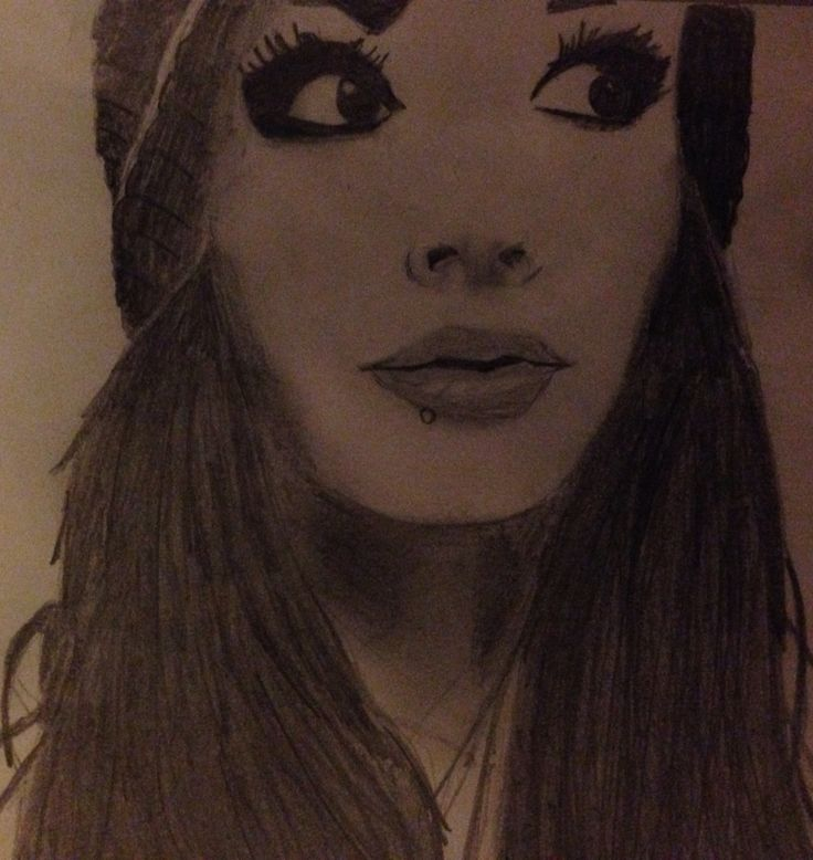 My drawing of WWE Paige