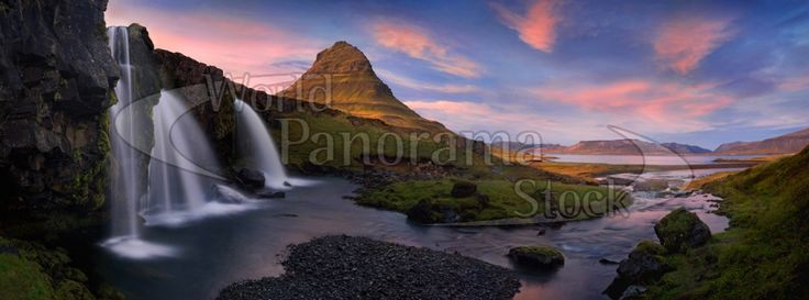 Panoramic image of Iceland | World Panorama Stock Photo Agency
