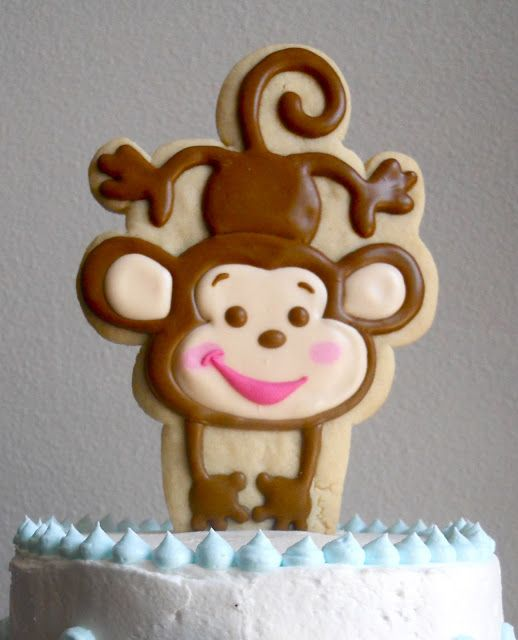 .Oh Sugar Events: Monkey Shower Cake