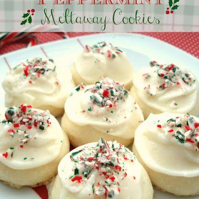 Peppermint Meltaway Cookies @keyingredient
