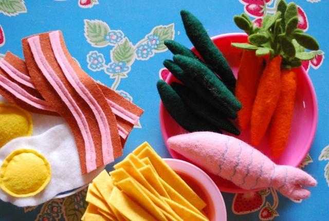 Kokenetentje by tantehilde: Zelf speeleten in vilt maken!