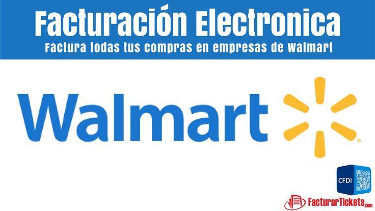 Walmart Facturacion en Linea