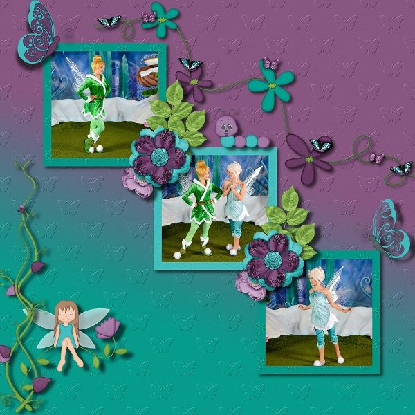 Kit By Day Dreams'n Designs - Butterfly Garden Template by Brenian Designs - Life in Pictures