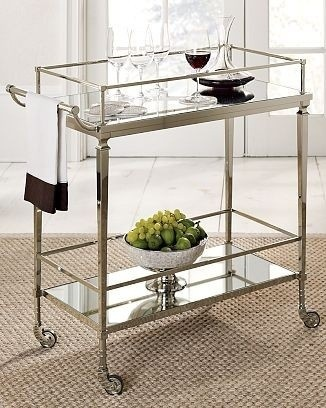 Cosmopolitan Bar Cart - Williams-Sonoma Home traditional bar carts
