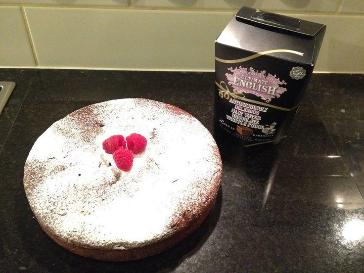 Louise Vaughan's Gluten Free Chocolate Truffle Fudge Cake