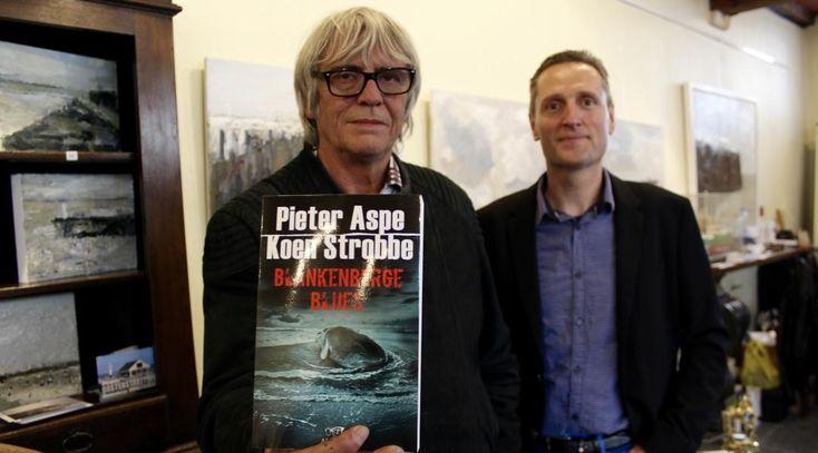 Zes maanden kreeg hij geen woord op papier, maar na een zwaar rouwproces kan misdaadauteur Pieter Aspe (63) weer vooruitkijken. Gisteren stelde hij Blankenberge Blues voor, zijn eerste boek sinds het overlijden van zijn vrouw Bernadette.