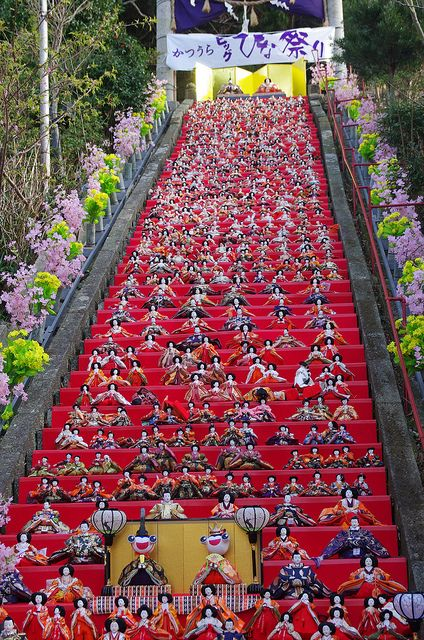 Hinamatsuri Festival, Katsuura, Japan