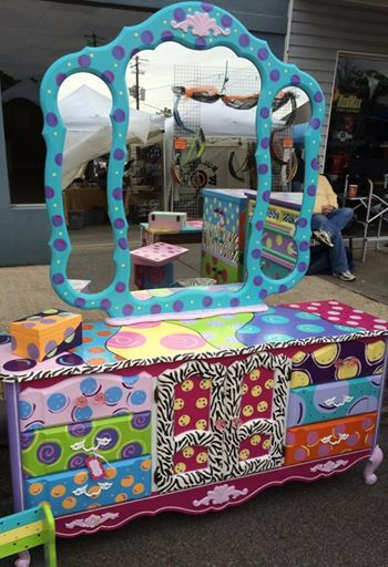 Ideas about funky furniture on pinterest hand painted furniture