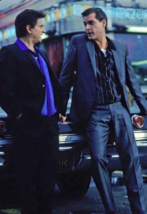 "Joe Pesci and Ray Liotta in""Goodfellas""(1990)by Martin Scorsese"
