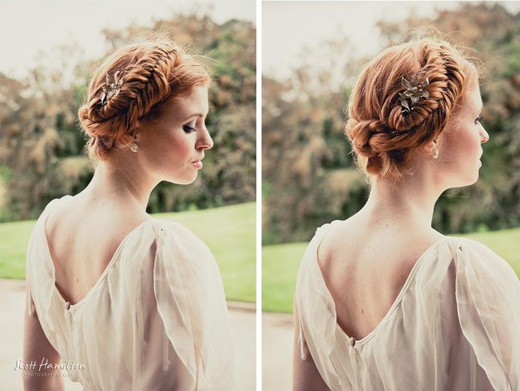 Irish Braids to gain Celtic Wedding Hairstyle