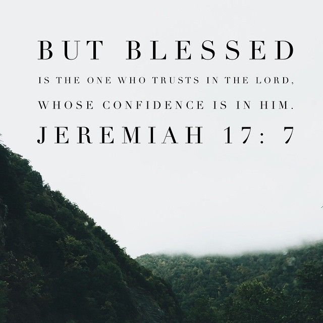 The Lord is so faithful to speak to us.  Heard a great message tonight on TRUST.  Blessed (happy) is the person who's trust is in ... Not in money, or that job, or that person or relationship... But who's trust is in the Lord.  May we put our hope and assurance in its rightful place... In HIM. He will not fail us. Thankful for Christ's faithfulness to us and that we can rest well tonight because He's in control!