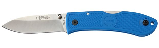 KA-BAR Dozier Folding Hunter--Blue 4062BL