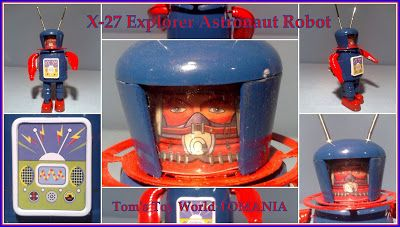 X-27 Explorer Astronaut Robot Made in China