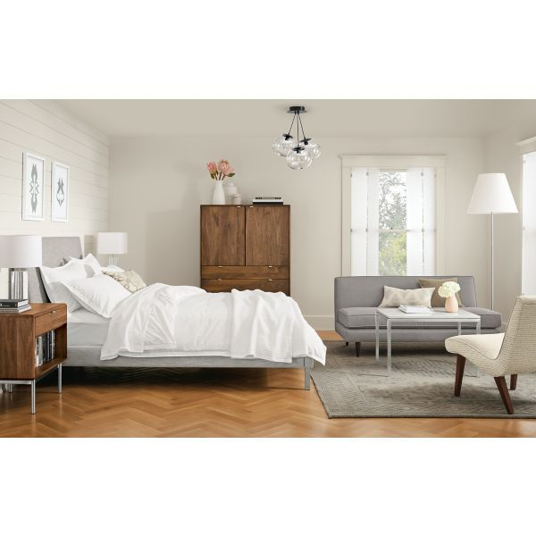 This Elegant Master Bedroom Is Anchored By The Ella Bed Clean
