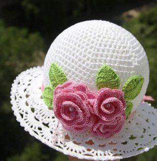 Rosangela Artes & Linhas: Chapéu Infantil Em Crochê