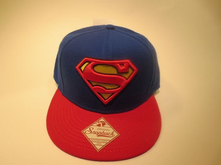 Superman Logo Hat Cap Snapback DC Comics Costume Logo Comics Trucker Hat  #DCComics #BaseballCap