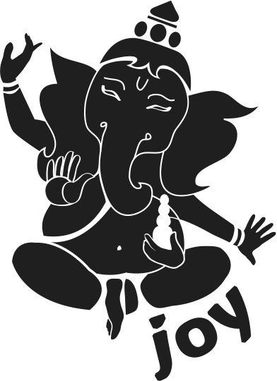 Nirvana Mama's first design, the Joyful baby Ganesh! http://www.nirvanamamas.com/