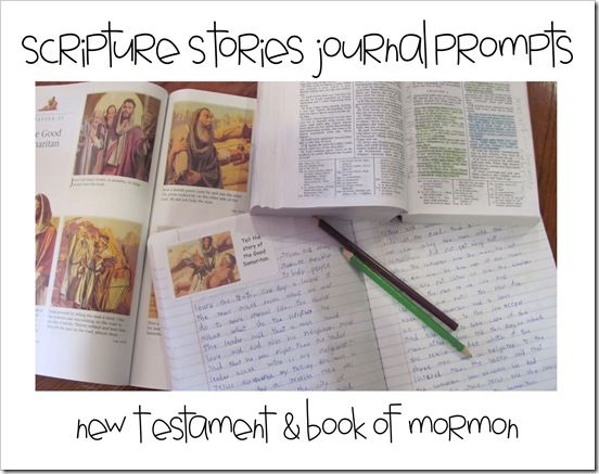 Book of Mormon Stories Journal Prompts