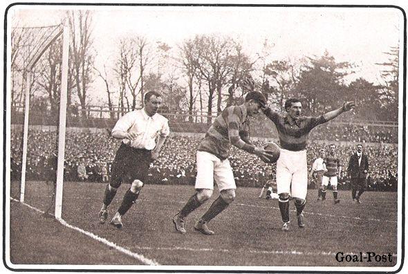 England v Scotland, the Crystal Palace, 1905
