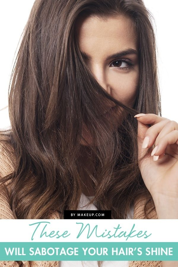 Blondes, brunettes, red heads. No matter our hair color, we're all on the same mission: shiny hair. We did some digging to find five of the common mistakes we're making that sabotage our hair's shine.