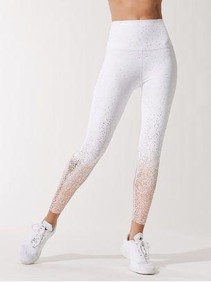 8b7a2bf7c7903 BEYOND YOGA Alloy Ombre High Waisted Midi Legging White/Rose Gold LEGGINGS