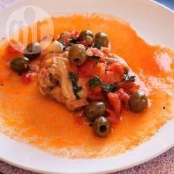 Pollo a la cazadora auténtico @ allrecipes.com.mx
