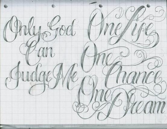 Tattoo Lettering - cute-tattoo.com