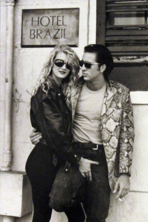 Laura Dern and Nicolas Cage, David Lynch's Wild at Heart (1990).