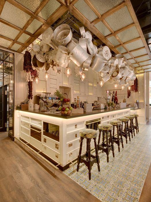 Outstanding Interior Design Of Ibrica London Restaurant Contract Furniture Ideas