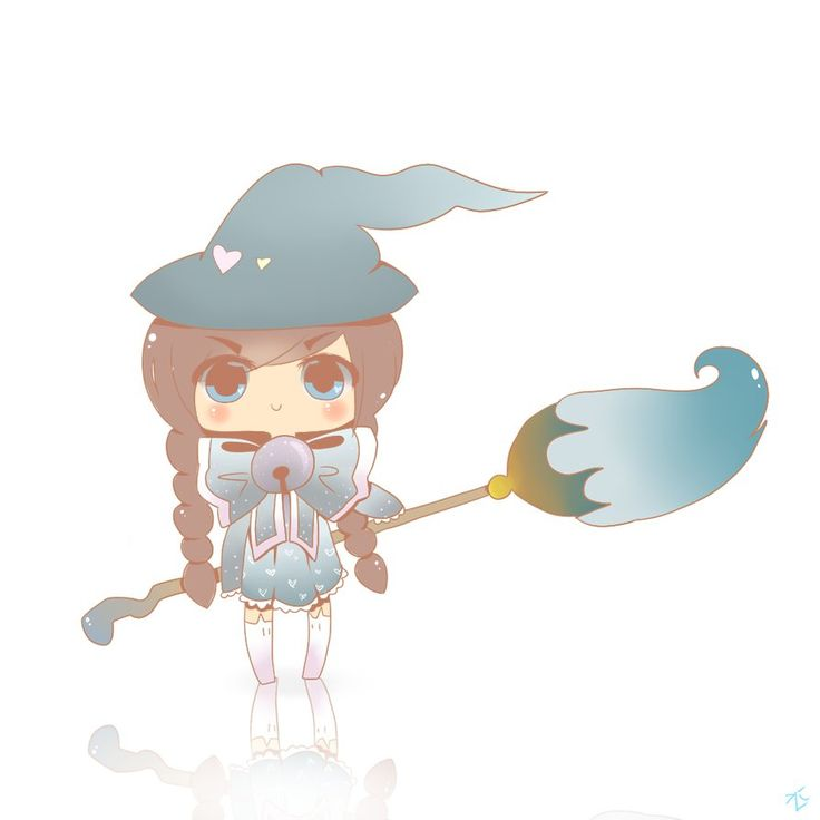 SruWitch family mascot by Mizu-witch