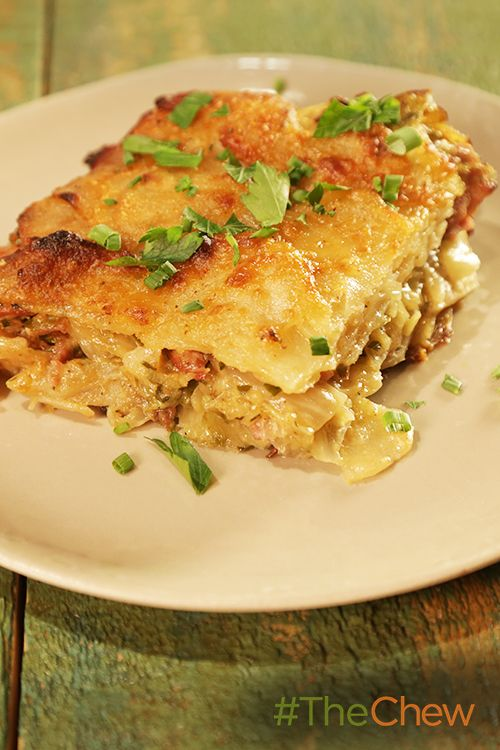 Make this Ham and Cabbage Potato Gratin dish inspired by the movie The Martian!