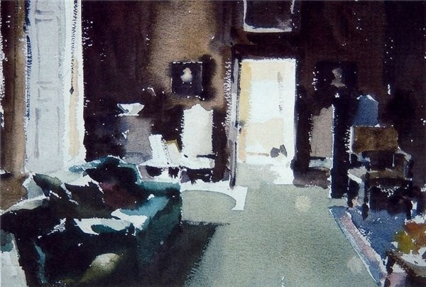 Les aquarelles de John Yardley (English, b. 1933)