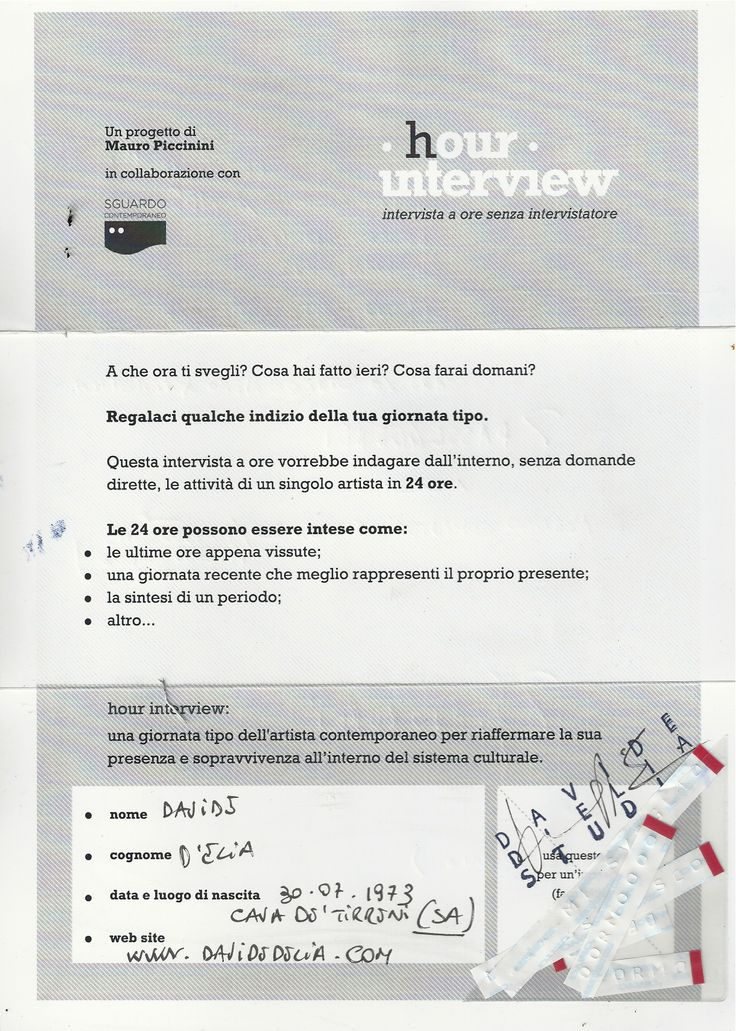 #DavideD'Elia #Form front. Nel box immagine -gli scarti del Dymo con i quali D'Elia ha scritto le parole nel retro.