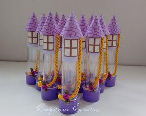 Tubete Torre Rapunzel - Enrolados