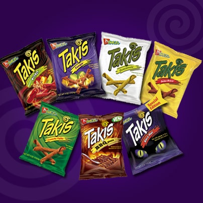 Takis Takis--7 flavors of the best snack ever!!